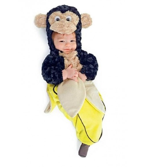 Monkey in banana