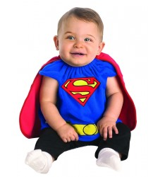 Superman deluxe bib