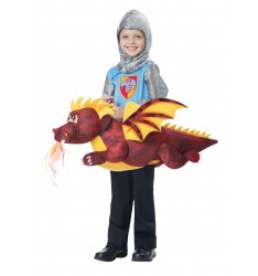 Dragon rider / toddler