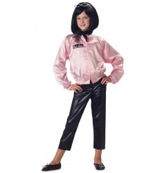 Pink ladies satin jacket only