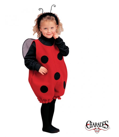 Little lady bug romper
