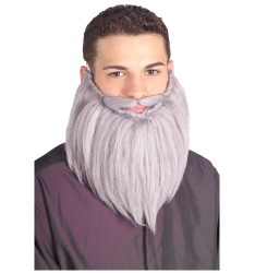 "8"" grey beard & mustache set"