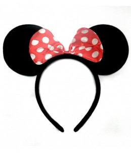 Diadema Minnie.