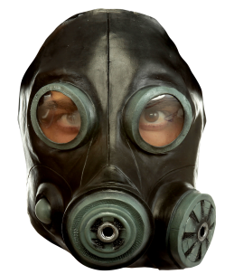 Smoke mask (black)