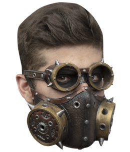 Steampunk muzzle and glasses