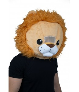 Lion kawaii mask
