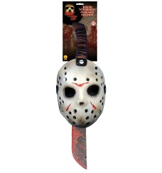 Jason voorhess mask and machet
