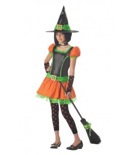 Sassy Pumpkin Witch